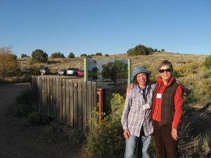 Docents at Leonora Curtin Wetland Preserve