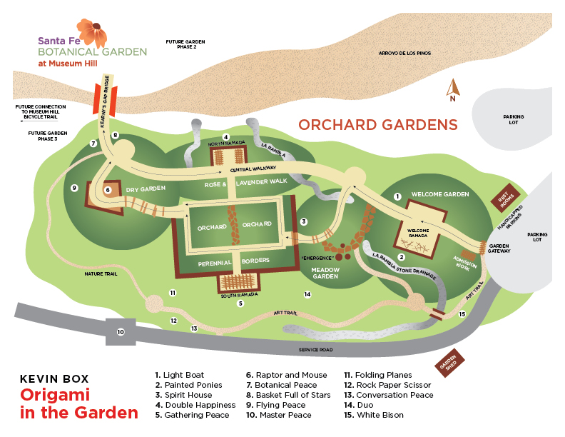 Merveilleux Our Mission. The Santa Fe Botanical Garden ...